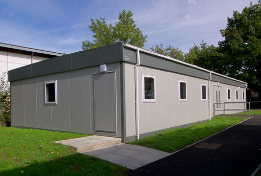 Upcycled Modular Buildings