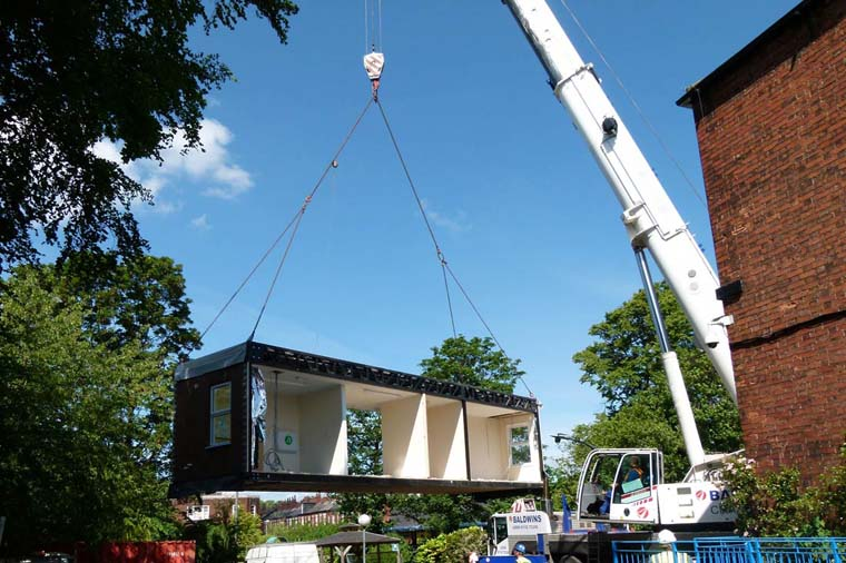 Movement of relocatable buildings