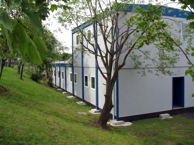 Two storey modular building