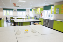 Modular science laboratory classroom