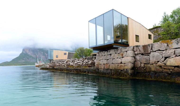 Modular buildings used for holiday cabins